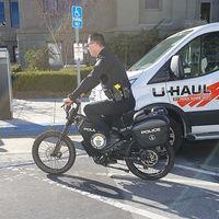 La Policía de Estados Unidos está probando bicicletas eléctricas con una autonomía de hasta 280 km para patrullar