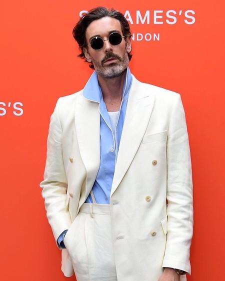 Richard Biedul Fue El Hombre Mejor Vestido En Las Pasarelas Y La Calle De La Fashion Week De Londres