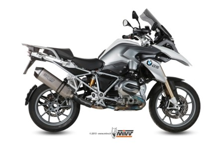 Escapes MIVV para la BMW R 1200 GS