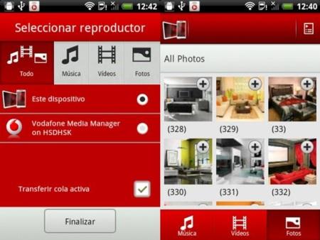 Vodafone Media Manager Mobile, comparte sin cables el contenido multimedia de tu Android