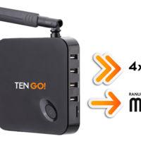 TenGO! microBox Quad Core, un media center Android TV para actualizar tu viejo televisor
