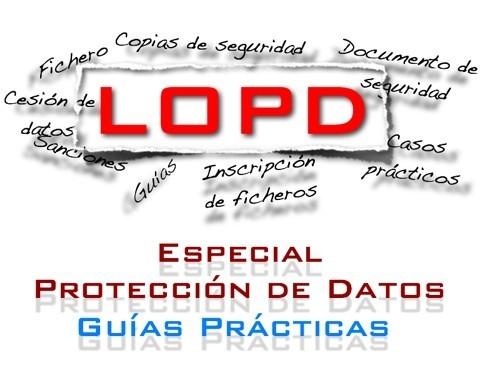 Guías Prácticas De La Lopd Iv Inscripción De Ficheros