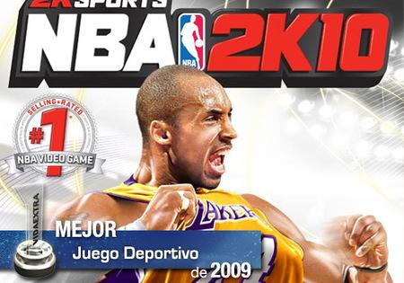 Mejor juego Deportivo de 2009 en VidaExtra: 'NBA 2K10'