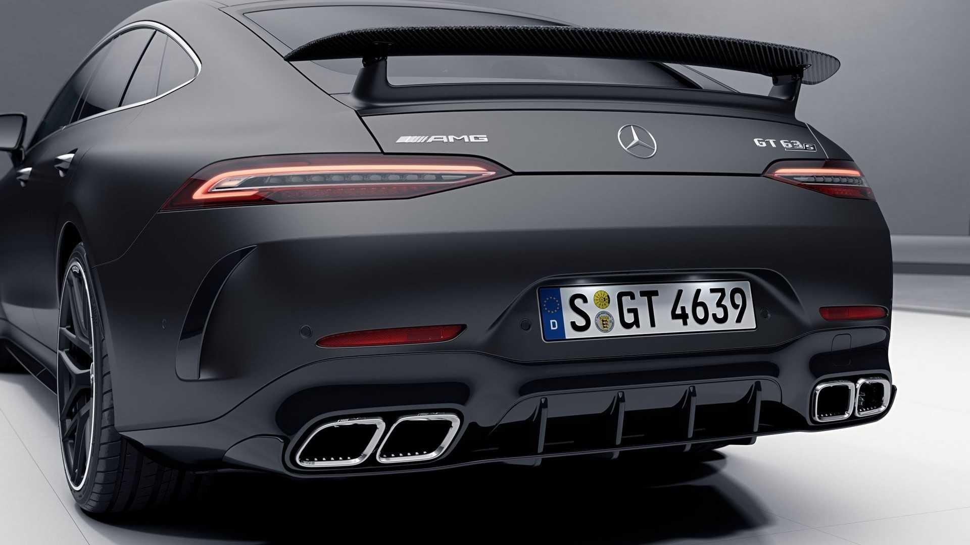 Foto de Mercedes-AMG GT 63 S 4 Puertas Coupé paquete Aero (6/6)