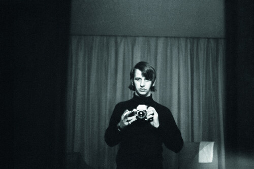 Ringo Starr, el batería de The Beatles, y su amor por la fotografía