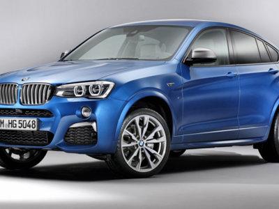 BMW X4 M40i: el más potente de la gama, filtrado