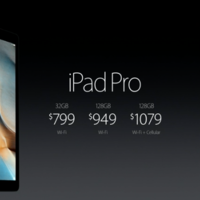 Apple presenta el iPad Pro