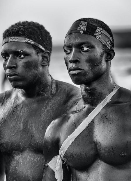 Senegalese Wrestlers, de Ángel López Soto