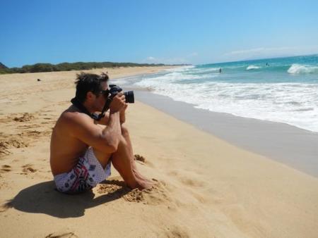 Alerta: fotógrafo suelto en la playa
