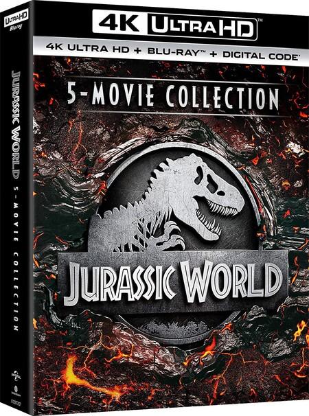 Películas de Jurassic Park en 4K de oferta en Amazon México