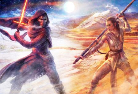 Kylo Ren y Rey
