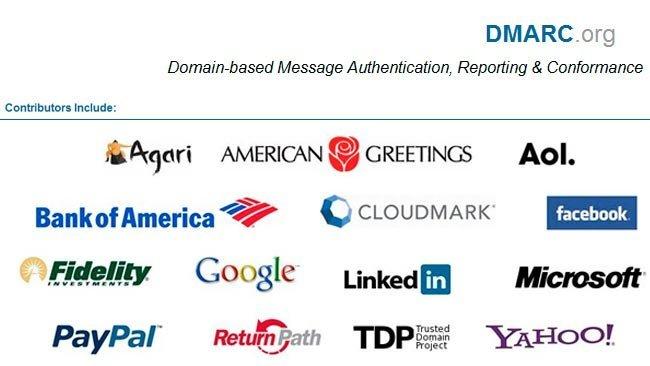 Empresas colaboradoras en DMARC. Buscan soluciones contra el phishing