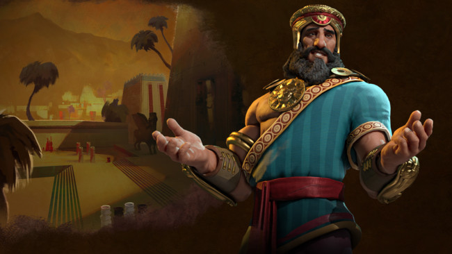 Civilizationvi Sumeria Gilgamesh Hero