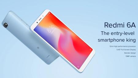 Oferta Flash: Xiaomi Redmi 6A, en versión global, por sólo 80 euros y envío gratis