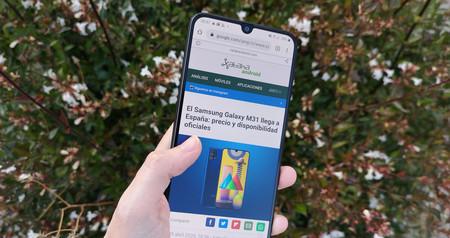 Samsung Galaxy M31 Rendimiento