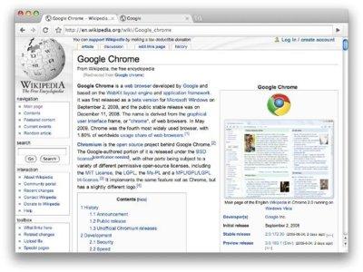 Google ya trabaja para mejorar el soporte de gestos multitáctiles de Chrome en Lion