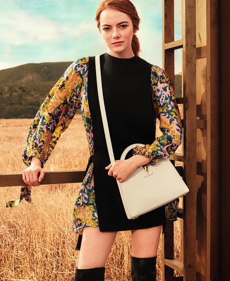 Campana De Emma Stone Para Louis Vuitton