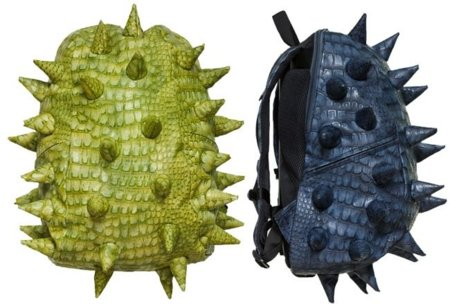 Una mochila que podría estar hecha de escamas de dragón