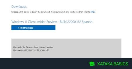 Cómo descargar las ISOs oficiales de la beta de Windows 11 y qué necesitas para hacerlo