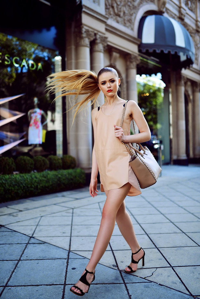 Looks Color Nude Tendencia Verano 2015 Street Style 1