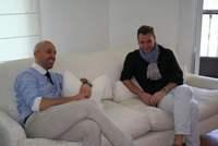 Álvaro y Arnaud, Arnaud y Álvaro, entrevista con ALVARNO