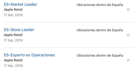 ofertas de empleo Apple España