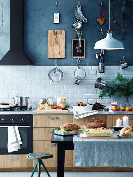 Pared Azul Cocina 7