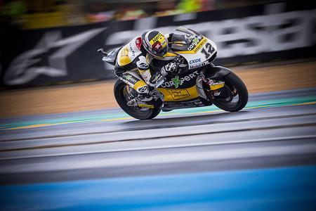 Thomas Luthi consigue la pole en Moto2 en el GP de Francia y Álex Márquez saldrá sexto