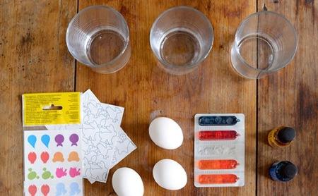 huevos pascua materiales