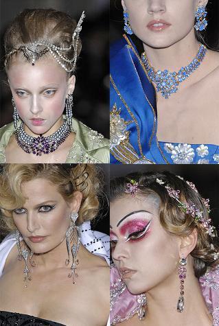 Christian Dior Alta Costura otoño-invierno 2007/08: las joyas