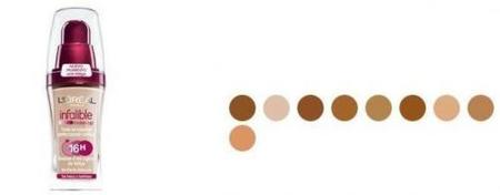 Los tonos de maquillaje básicos son tres: rose, beige y doré