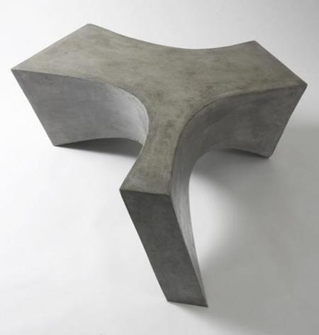 Mesas de piedra de Daniel Meise