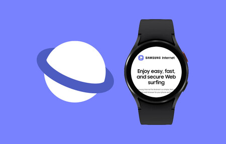 Samsung Internet Browser llega a los relojes Galaxy Watch 4