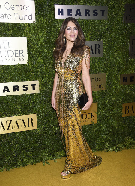 Elizabeth Hurley Lincoln Center Corporate Fund Fashion Gala