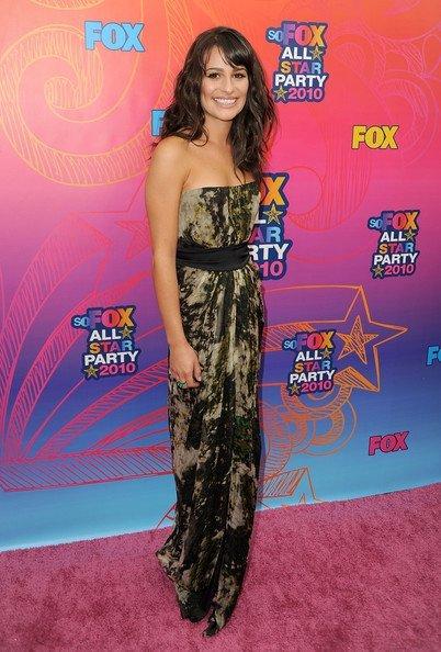 Todas las famosas en la fiesta veraniega de Fox 2010 TCA