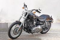 A subasta la Harley Davidson Dyna Super Glide del Papa Francisco