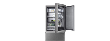 SIGNATURE Instaview Door-in-Door: puerta transparente, apertura automática y control a distancia en el nuevo frigorífico de LG