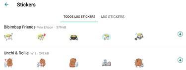 Cómo bajar en WhatsApp los stickers que más te gustan sin tener que descargar el paquete completo