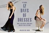 Llegan las navidades y los 12 days of dresses de Urban Outfitters