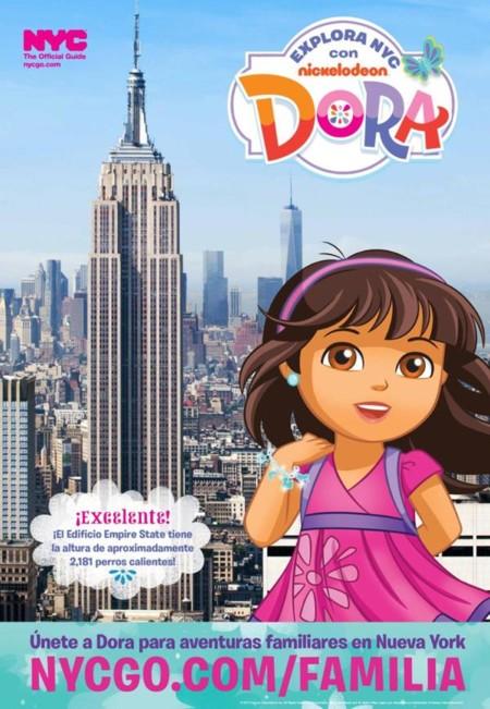 Dora la Exploradora es la nueva embajadora del turismo familiar en Nueva York