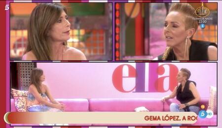 Gema López y Rocío Carrasco