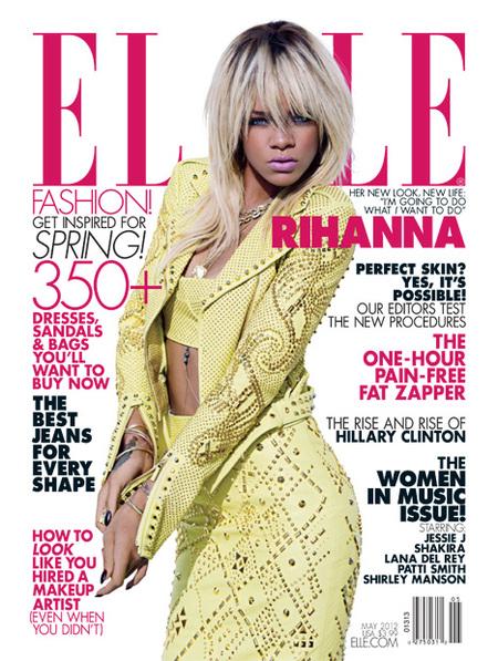 Aún nos quedaban coletazos de Rihanna rubia por ver