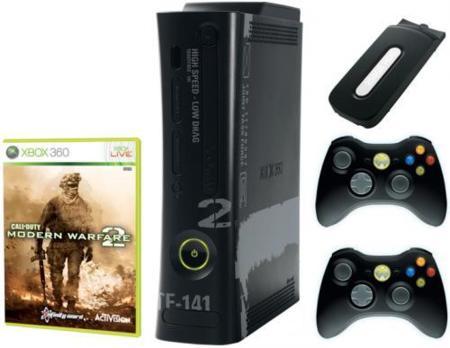 Xbox 360 de 250GB con pack Modern Warfare 2
