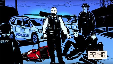 Campana Policia Londres Robo Scooter 2020 1