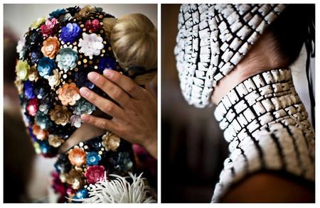 Revelamos el misterio de las máscaras del desfile Couture de la Maison Martin Margiela