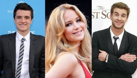 'Los juegos del hambre', Josh Hutcherson y Liam Hemsworth acompañan a Jennifer Lawrence