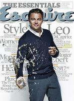 Leonardo DiCaprio muy fresco en la portada de Esquire