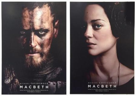 Los primeros carteles de Macbeth