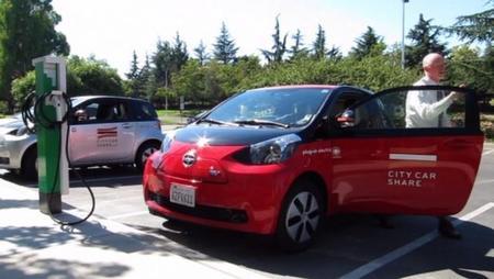 El Toyota iQ EV se incorpora en California a un programa de carsharing