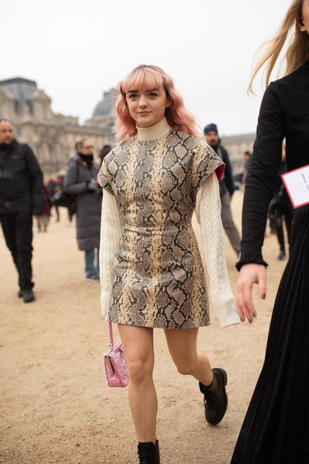 maisie williams street style estilo